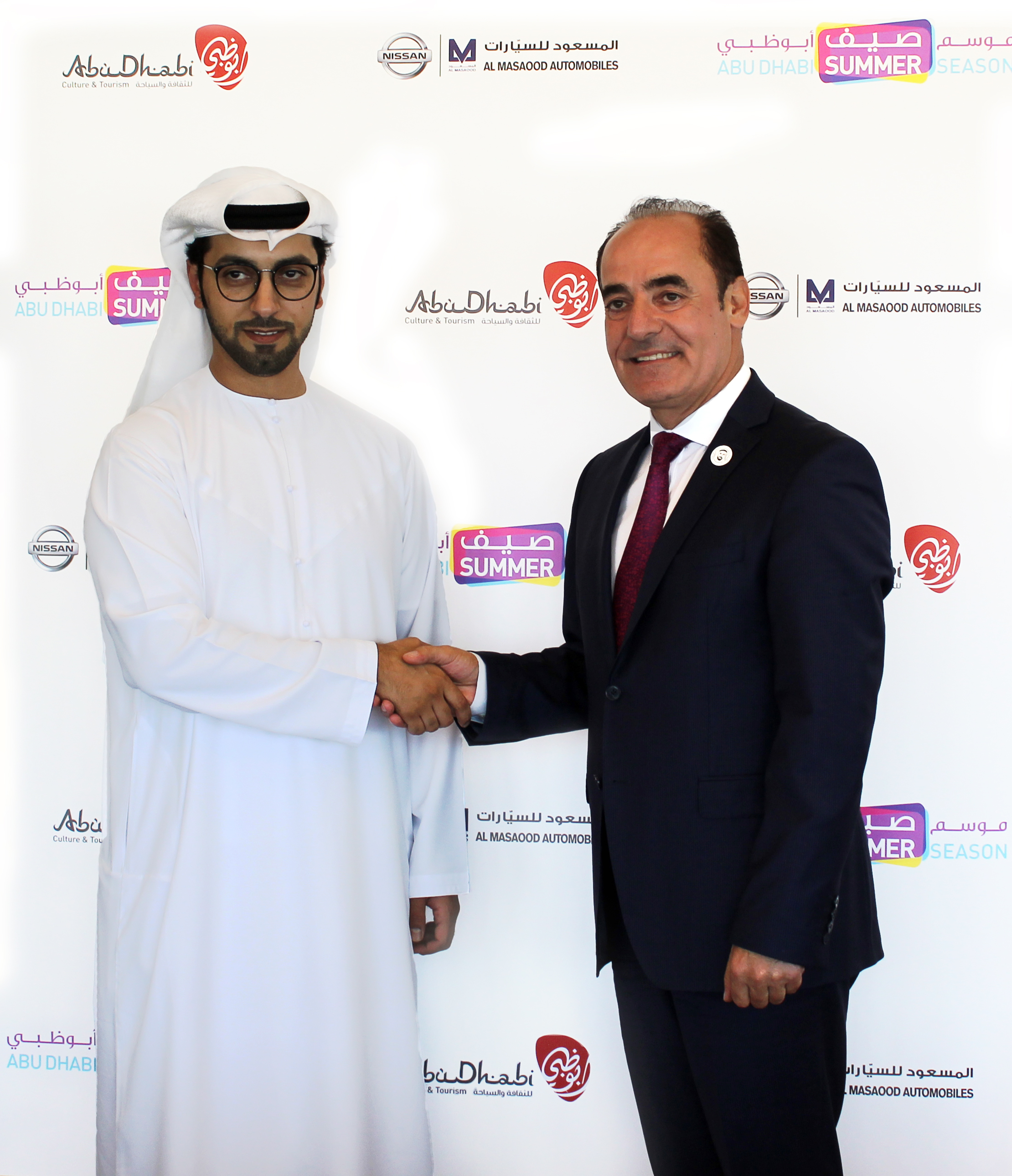 Al Masaood Automobiles signs partnership with Department of Culture and Tourism – Abu Dhabi for the '2018 Unbox the Amazing'