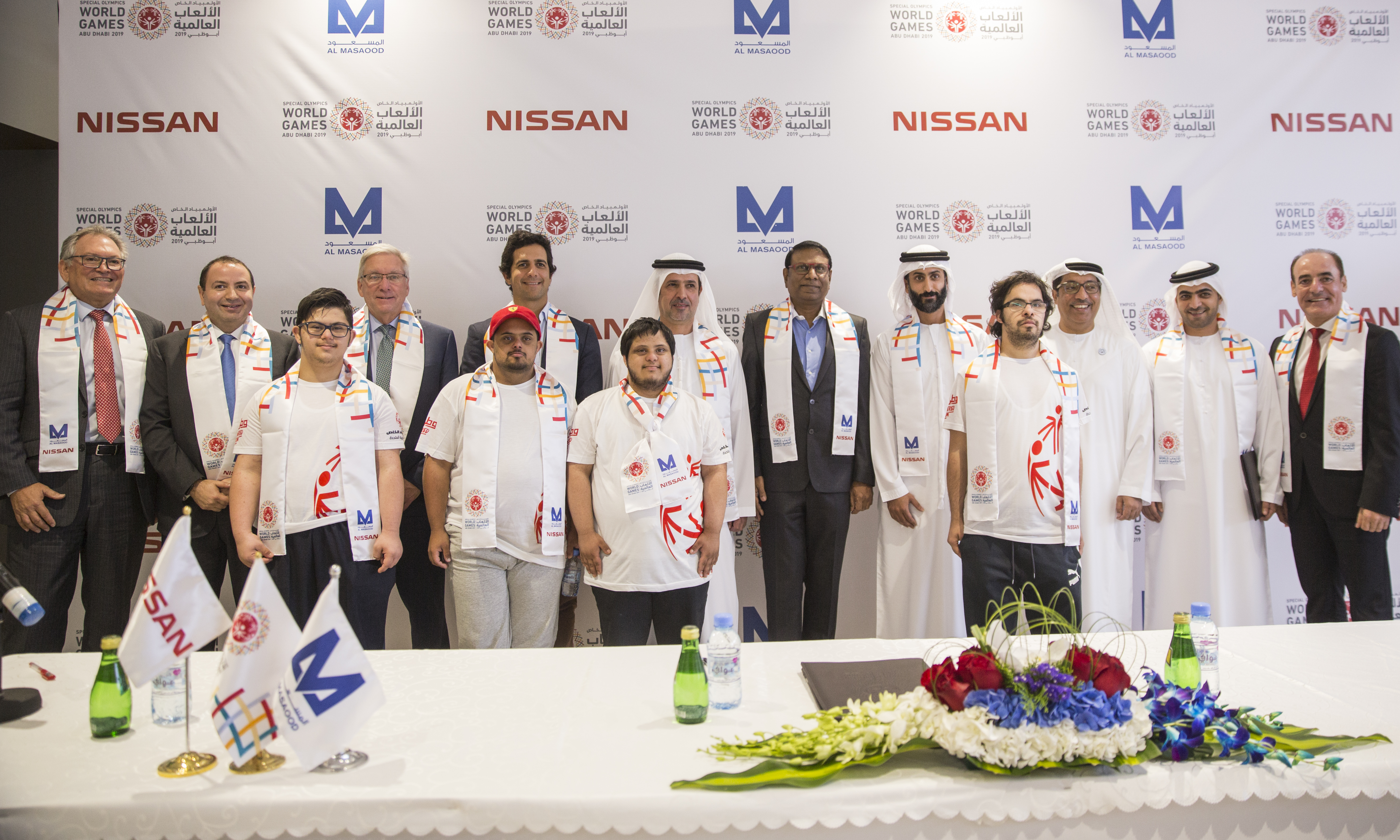 Al Masaood to support the operations of Special Olympics World Games 2019