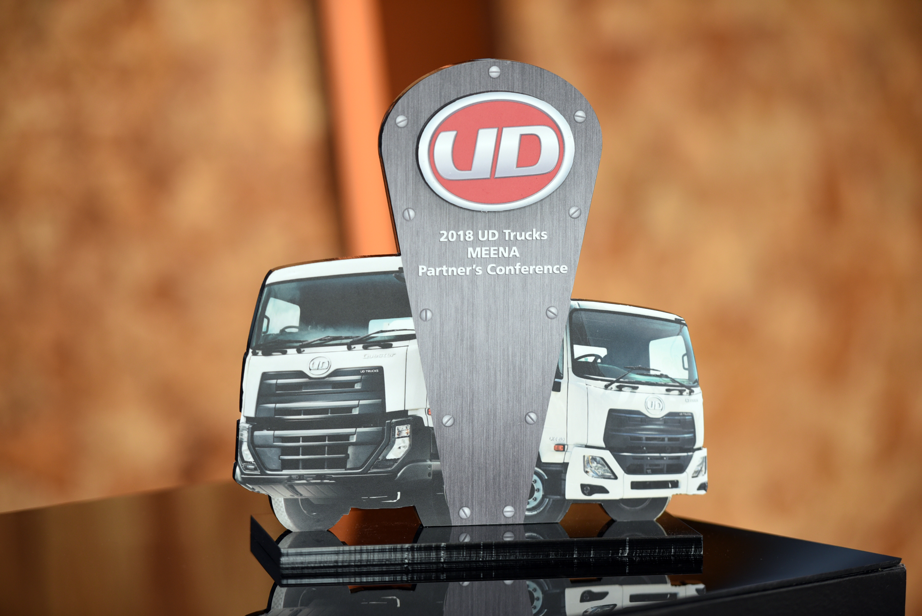 Al Masaood Commercial Vehicles & Equipment Division awarded 'Best Partner's Success Story' for 2017