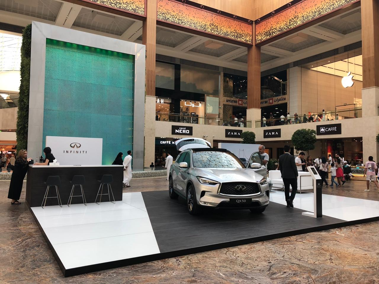 Al Masaood Automobiles announces launch of newest compact luxury SUV—the INFINITI QX50