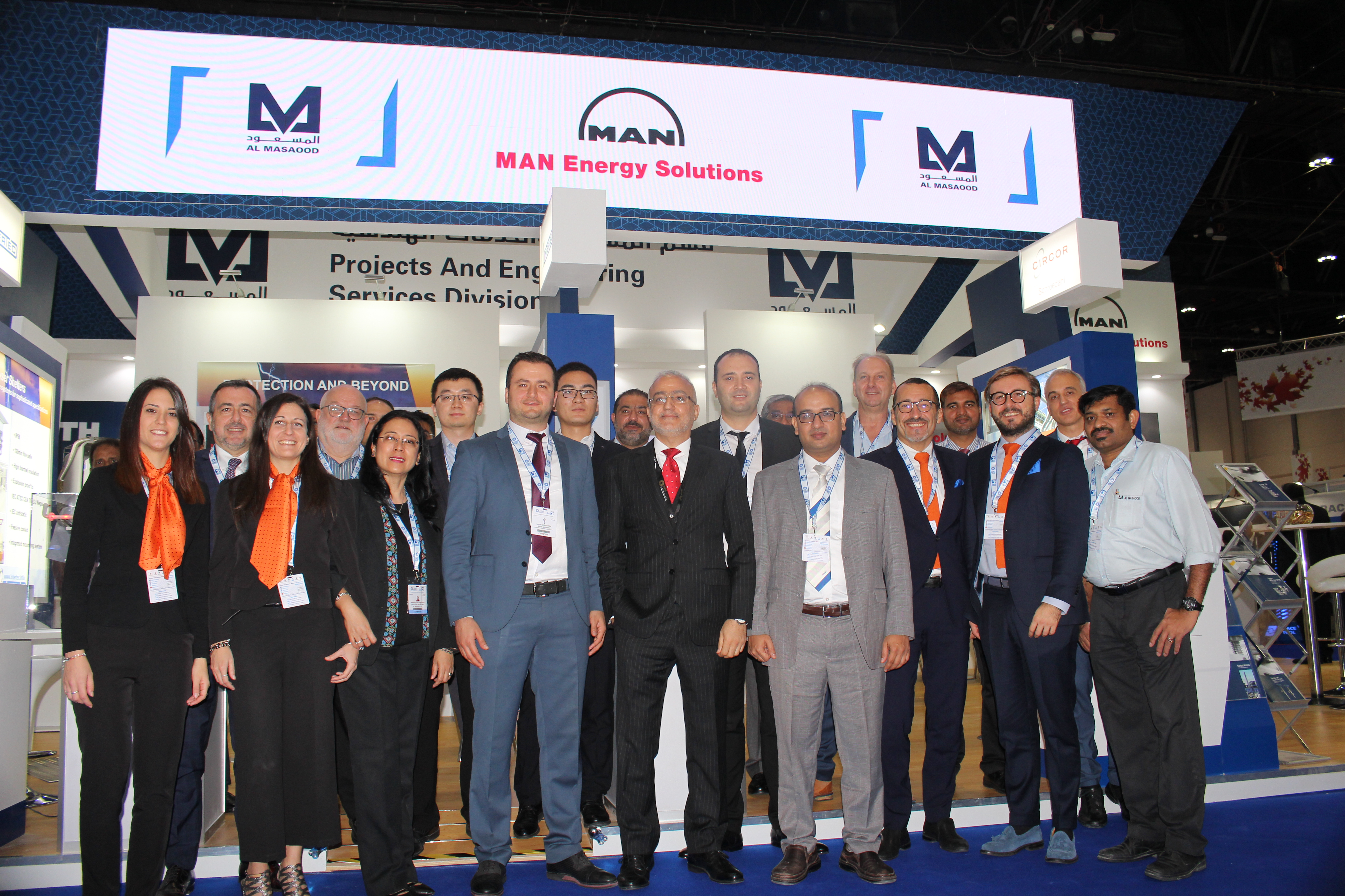 Al Masaood's Projects & Engineering Services Division highlights its technology-driven energy solutions at ADIPEC 2019