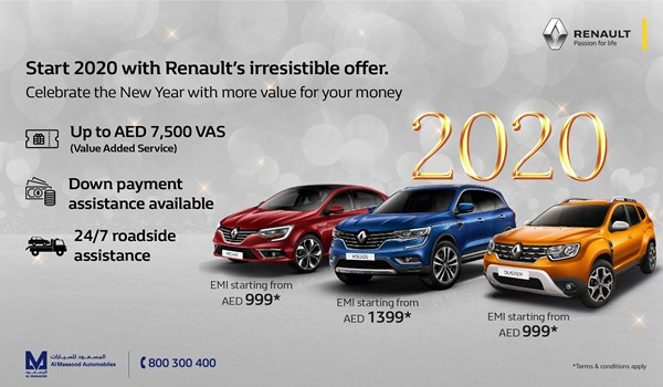 Special offer from Renault 2020
