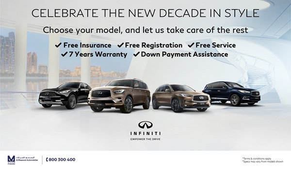 Special offer from Infiniti 2020