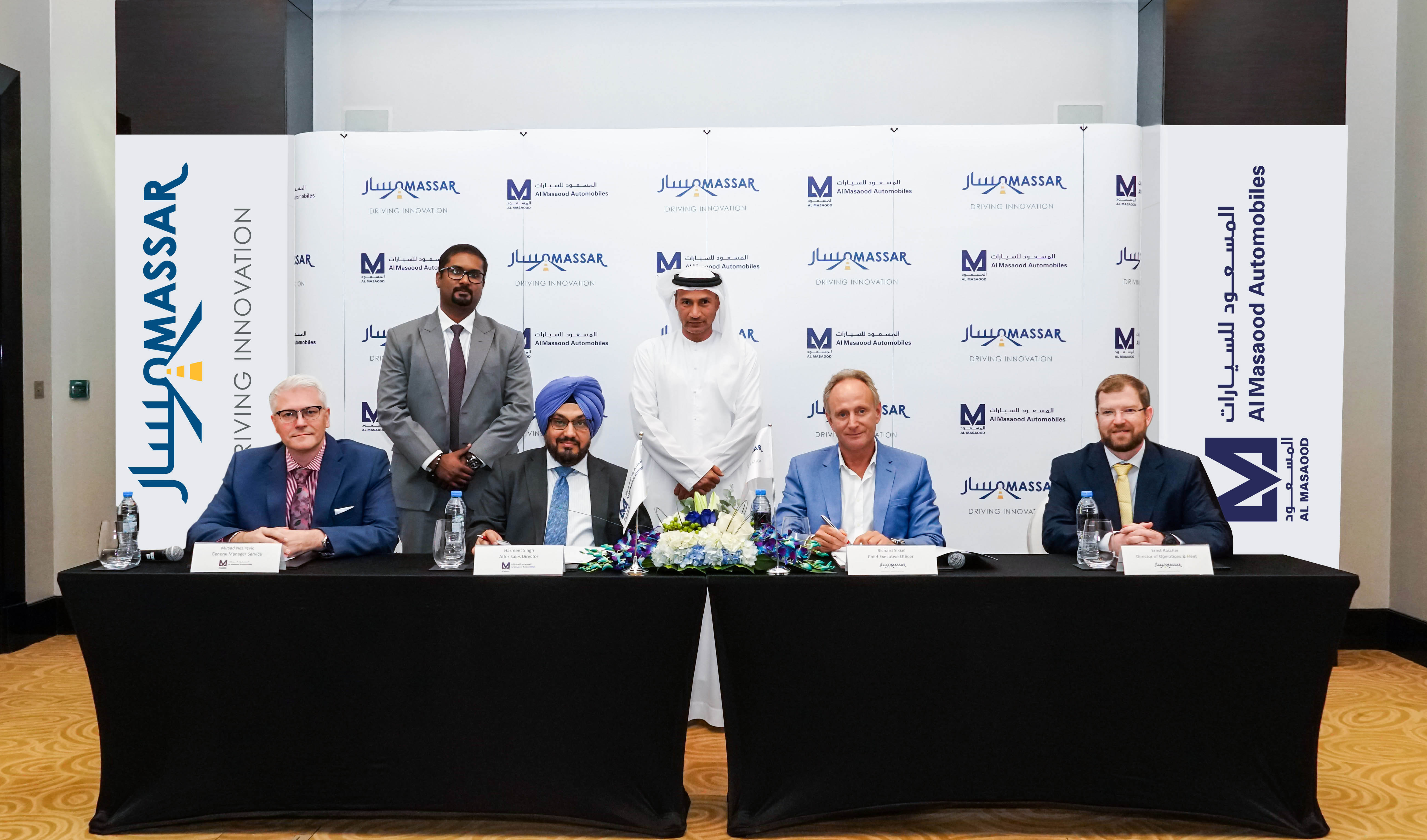 Al Masaood Automobiles announces partnership with Massar Solutions