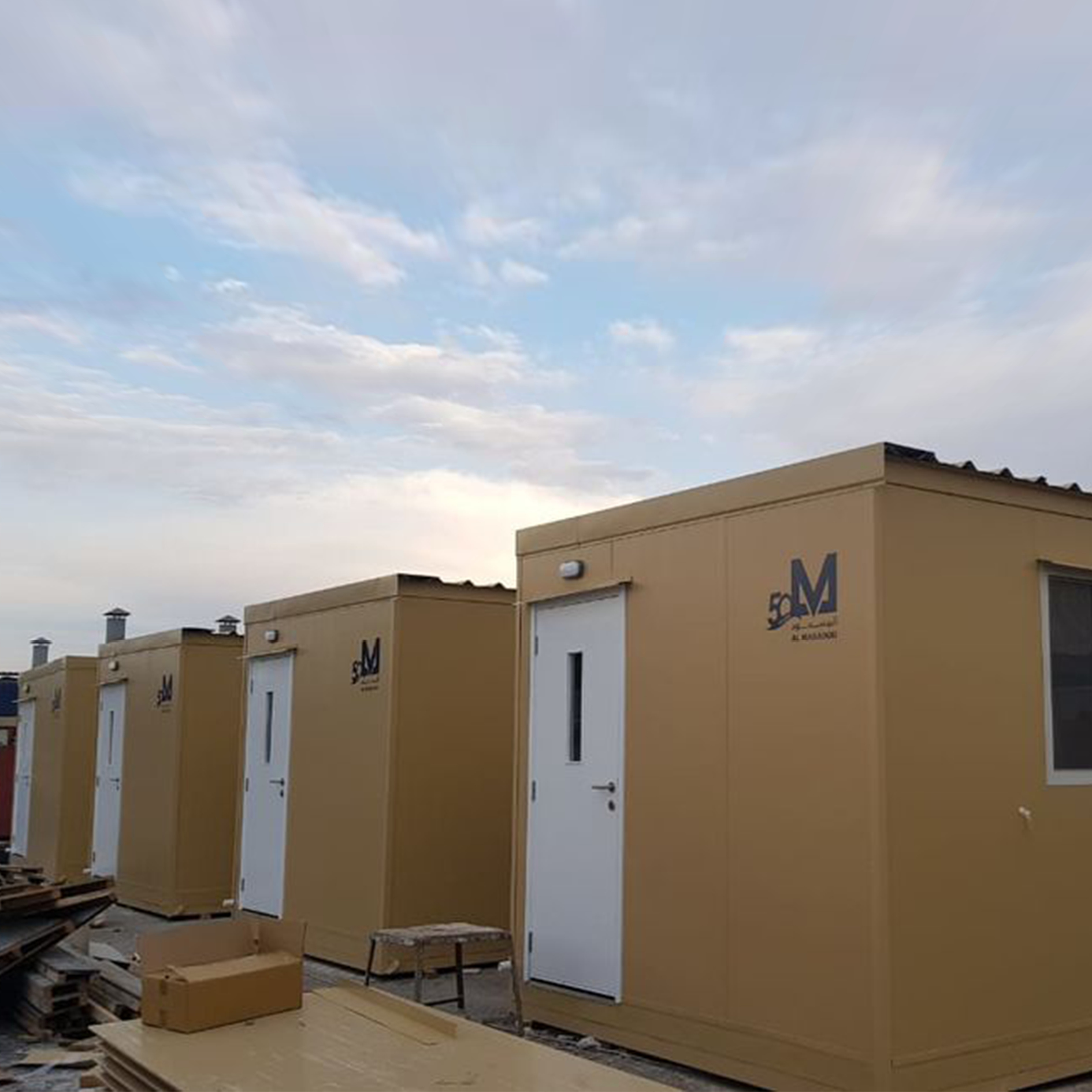 Al Masaood Bergum successfully builds specialized accommodation facility in shortest time possible