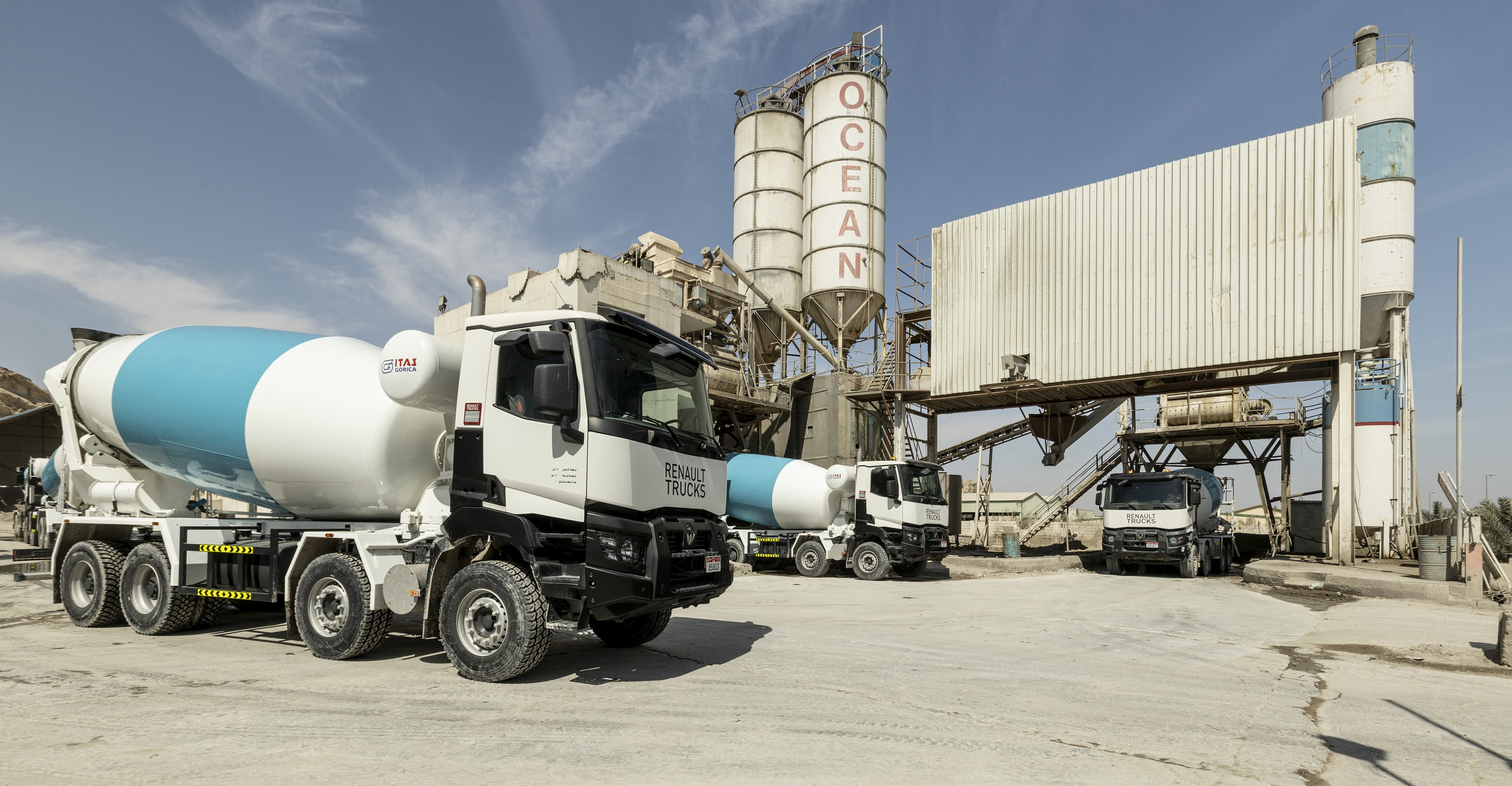 Al Masaood Commercial Vehicles & Equipment Enters into New Transit Mixer Deal with Ocean Readymix & Precast