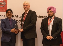 NISSAN SERVICE OUTSTANDING PERFORMANCE AWARD