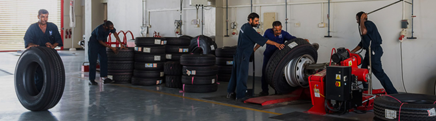 Automotive Al Masaood Tyres, Batteries & Accessories Division